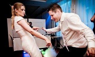 dj for a wedding